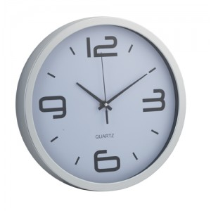 Nástěnné hodiny, bílá
