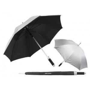 Deštník automat, stříbrná