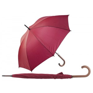 Automatický deštník, červená