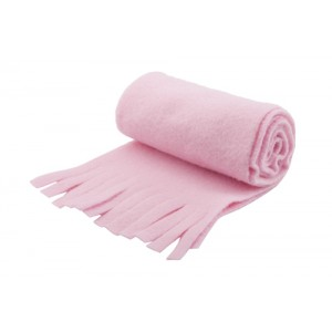 Fleecový šátek, růžová