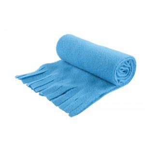 Fleecový šátek, světle modrá