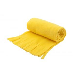 Fleecový šátek, žlutá