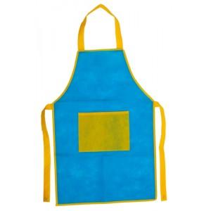 Zástěra pro děti, královská modrá