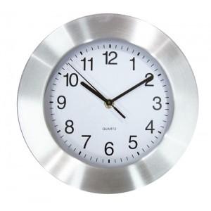 Nástěnné hodiny, stříbrná