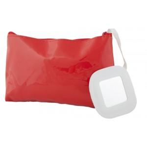 Kosmetická taška, červená