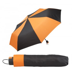 Skládací deštník, oranžová