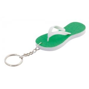 Přívěšek na klíče, zelená
