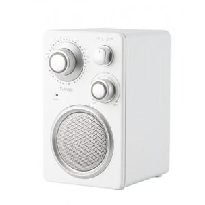 Rádio, bílá