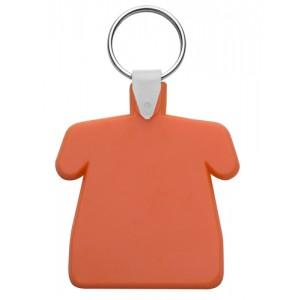 Plastová klíčenka, oranžová