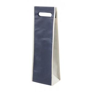 Dárková taška na víno, tmavě modrá