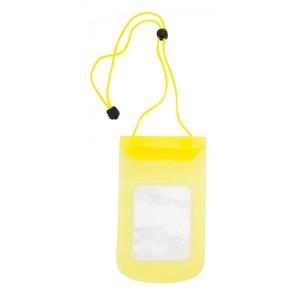 Voděodolné pouzdro na mobil, žlutá