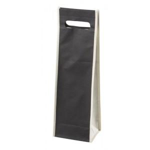Dárková taška na víno, černá