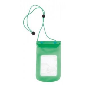 Voděodolné pouzdro na mobil, zelená