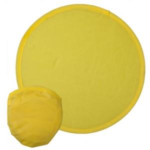 Létající talíř do kapsy, žlutá