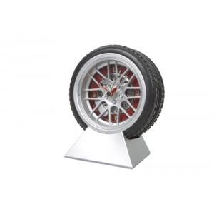 Hodiny pneumatika, stříbrná
