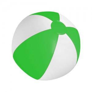 Plážový míč, zelená