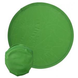 Létající talíř do kapsy, zelená
