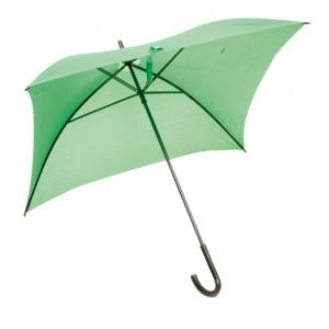 Čtvercový deštník, zelená