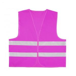 Reflexní vesta, růžová