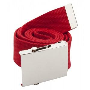 Polyesterový opasek, červená