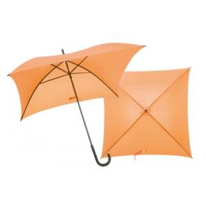 Čtvercový deštník, oranžová