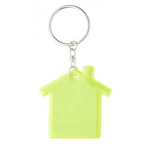 Reflexní klíčenka, žlutá