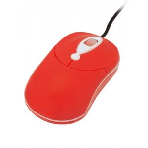 Optická myš, červená