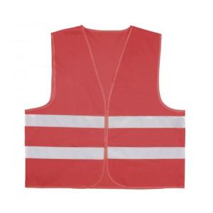 Reflexní vesta, červená