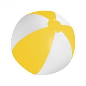 Plážový míč, žlutá