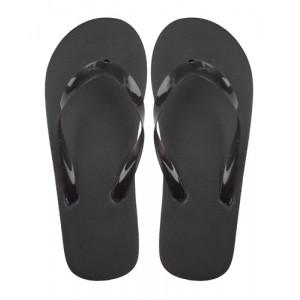 Plážové pantofle, černá