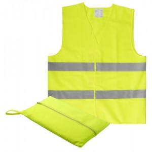 Dětská reflexní vesta, žlutá