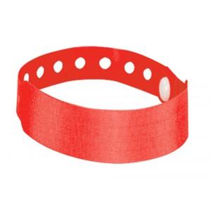 Identifikační páska na ruku, červená