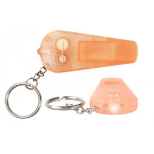 Klíčenka se světlem, oranžová