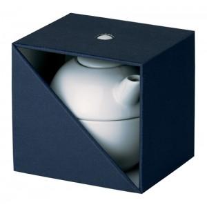 Dárková krabička na čajovou konvici, černá