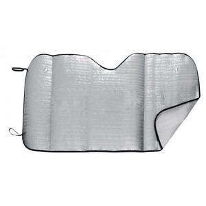 Termoizolační fólie na okno auta, stříbrná