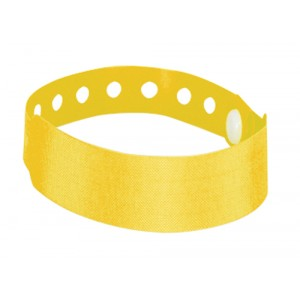Identifikační páska na ruku, žlutá
