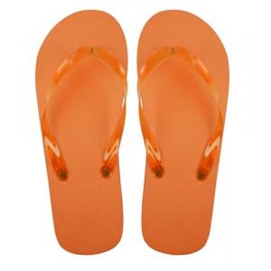 Plážové pantofle, oranžová