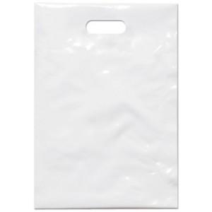 PE taška 35x50 cm, bílá
