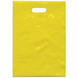 PE taška 35x50 cm, žlutá