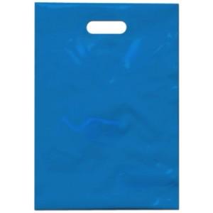 PE taška 35x50 cm, světle modrá