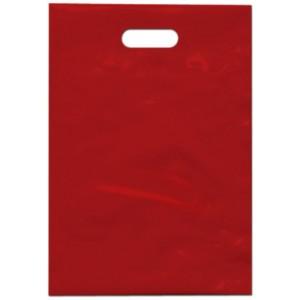 PE taška 35x50 cm, červená