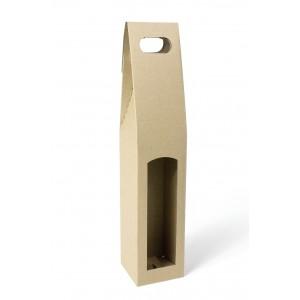 Krabice na láhev 8,5x8,5x40 cm