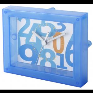 transparentní stolní hodiny