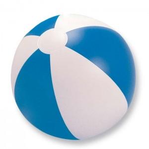 Nafukovací plážový míč, modrý, průměr 24,5 cm