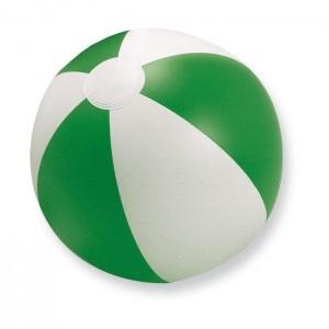 Nafukovací plážový míč, zelená, průměr 24,5 cm