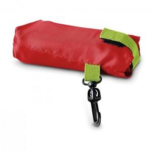 Skládací nákupní taška, červená