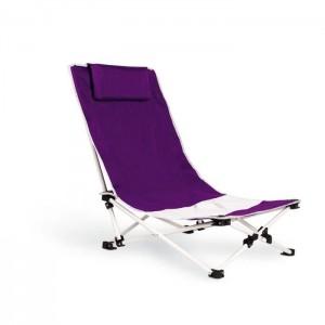 Plážová židle, fialová