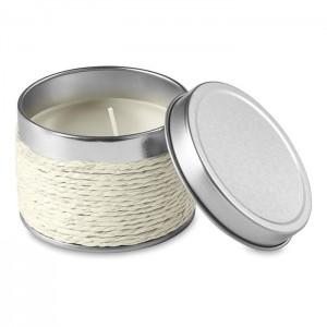 Vonná svíčka, bílá