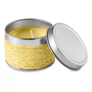 Vonná svíčka, žlutá