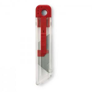 Zasunovací nůž, červený